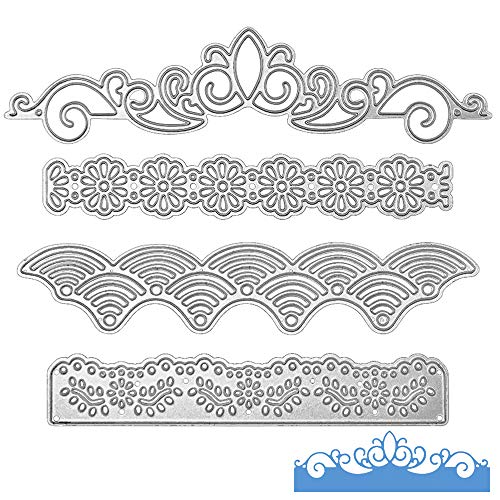 Metal Lace Die Cuts Cutting Dies Nesting die Embossing Stencils Template Mould for Card Scrapbooking and DIY Crafts 4 - Die Lace