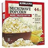 Kirkland Signature Microwave Popcorn-Butter Flavour-Pack of 44 Bags 4.10 Kilogram