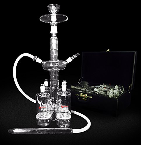 The Titan IV Glass Hookah by Vapor Hookahs