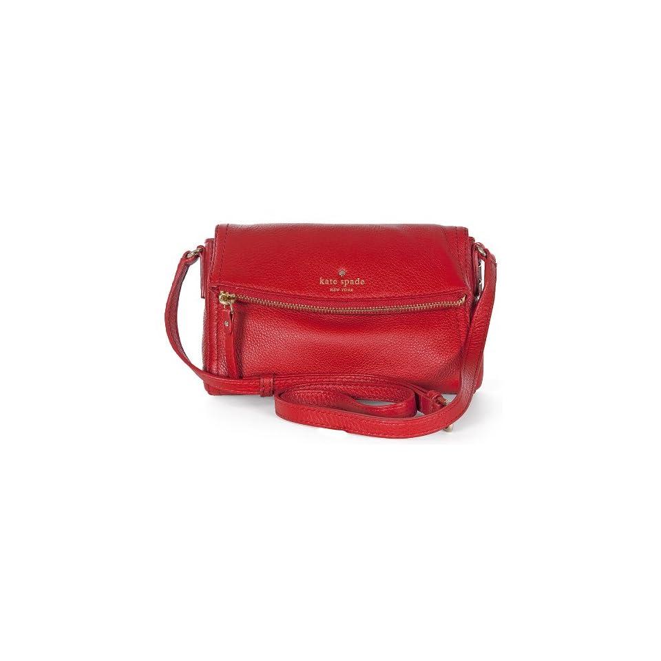 Kate Spade Cobble Hill Mini Carson Deep Blaze Crossbody Bag PWRU3681 605