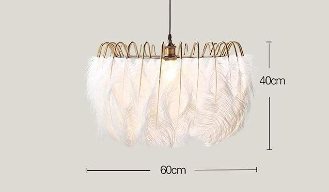 Ikea Kronleuchter Kinderzimmer ~ Gbt weiße feder kronleuchter kreative persönlichkeit nordic