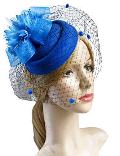 Fascinator Pillbox Bowler Feather Wedding product image