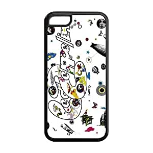 MMZ DIY PHONE CASECustom Your Own Led Zeppelin Rock Band Silicon ipod touch 5 Case , Best Durable Led Zeppelin ipod touch 5 Case