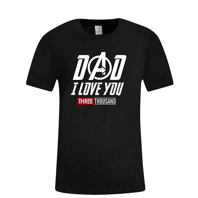 YpingLonk Camiseta de Manga Corta para Hombre del día del ...