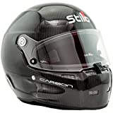 Stilo ST5 GT Wide Carbon SA2015 Helmet with Noise Attenuating Ear Muffs - Black - Size 59 (Large)