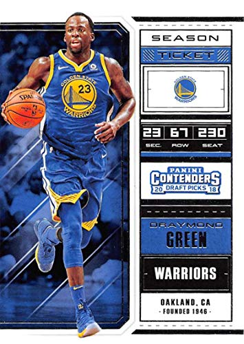 2018-19 Panini Contenders Draft Picks Basketball Season Ticket Variation #16 Draymond Green Golden State Warriors Official NBA Trading Card