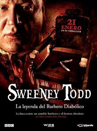 Sweeney Todd, el barbero diabólico de la calle Fleet [DVD]