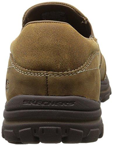 Skechers BraverLinares Herren Sneakers Braun (Dsch)