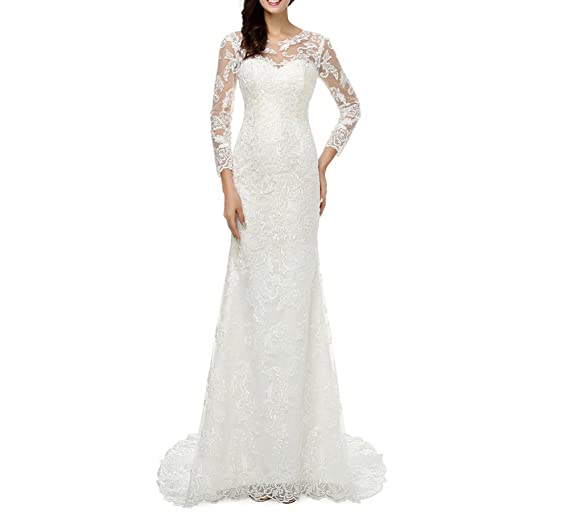 dobelove Mujer Corpiño de encaje sirena para vestido de novia (con cola desmontable: Amazon.es: Ropa y accesorios