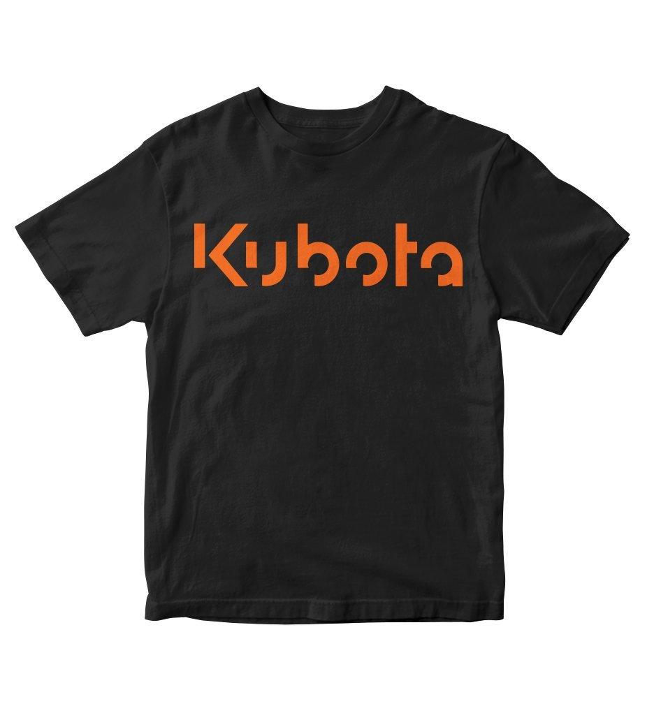 Tjsports Kubota Tractor Orange Black Shirt S M58