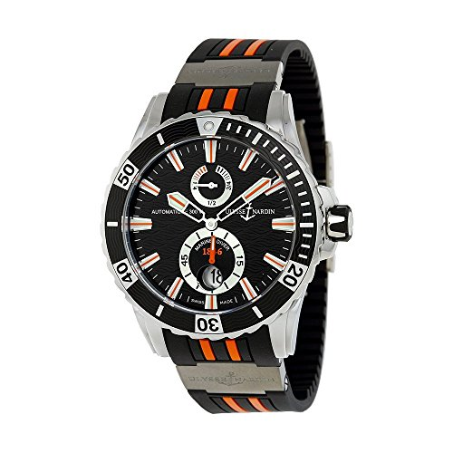 Ulysse-Nardin-Maxi-Marine-Diver-Automatic-Black-Dial-Black-Rubber-Mens-Watch-263-10-3-952