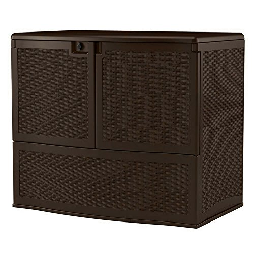 (Outdoor Storage Cabinet Resin Box Wicker-like Patio Organizer Weather Resistant Multi-wall Panels Roomy Garden Storage Unit Contemporary Design Backyard Décor Lockable Easy-lift Lid eBook by)