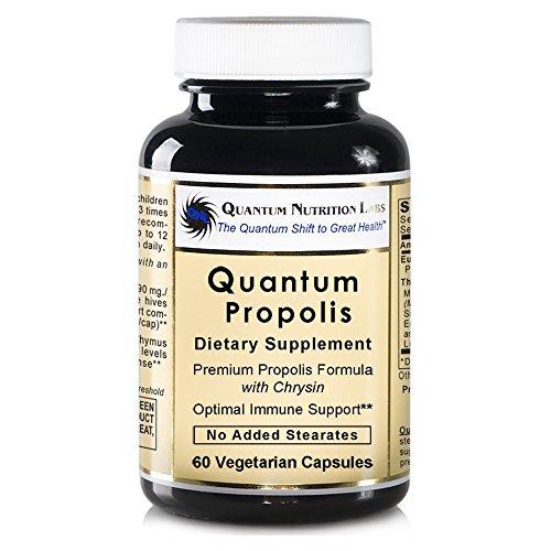 Quantum Propolis, 240 VCaps 4 bottles - Natural Premier Labs Propolis Immune Formula for Quantum-State Immune Support by Quantum Nutrition Labs
