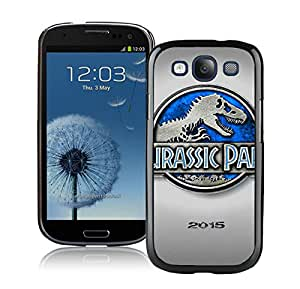 Jurassic Park 4 2015 Poster Black New Personalized Custom Samsung Galaxy S3 I9300 Case