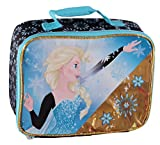Disney Frozen Elsa Lunchbag (Blue/Gold)