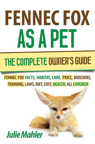 Fennec Fox as a Pet: The Complete Owner's Guide. Fennec fox care, diet, training, diseases, price, facts, breeders, habitat, laws, cost, and health, all covered!