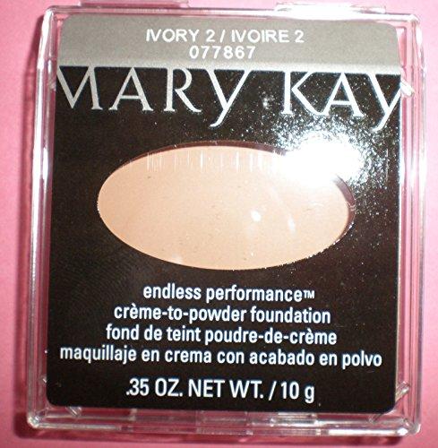Mary Kay Endless Performance Creme-to-Powder Foundation ~ Ivory 2