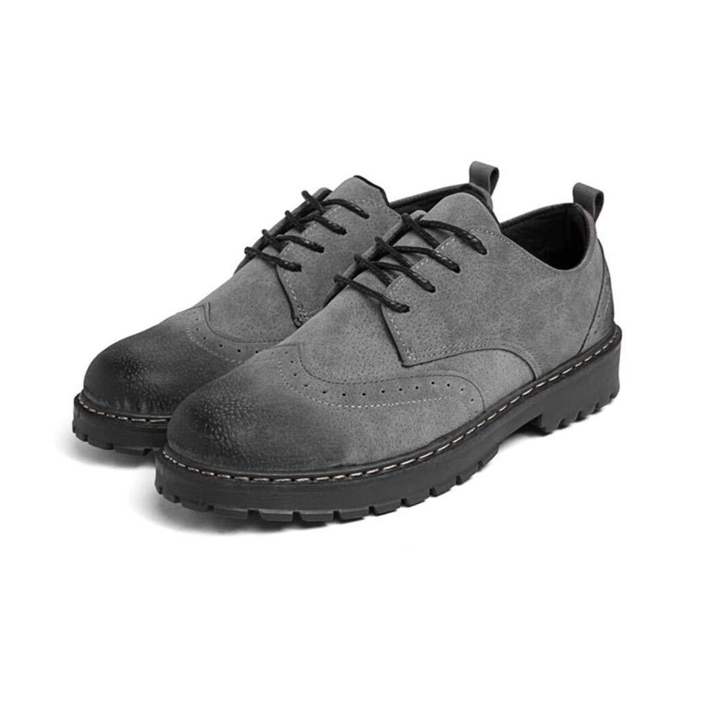 0e434b5d3921 Amazon.com   Zaqxs Men s Autumn-Winter Comfort Lace-up Waterproof Ankle  Martin Boots Inside Big Size Low Help Bullock Work Shoes   Sports   Outdoors