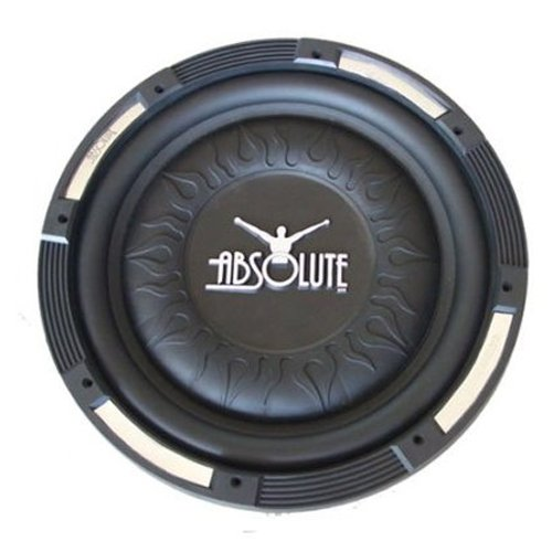 Absolute XS-1000 10-Inch 4-Ohm Xcursion Series Slim Subwoofer - Single