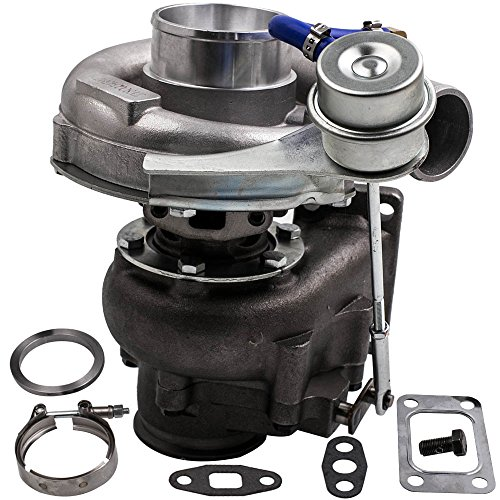 T04E T3/T4 .63A/R Turbo Turbocharger Compressor 300+HP Internal Wastegate - Wastegate Internal T3
