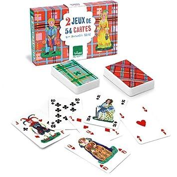 Amazon.com: Vilac Nathalie Lete jugar juego de cartas, juego ...