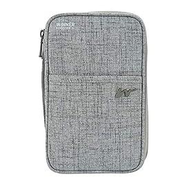 CozyCabin Neck Wallet & Hidden Passport Holder – RFID Blocking Wallet Passport Holder Travel Pouch Security Necklace…