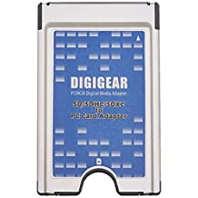 Digigear SD SDHC SDXC to PCMCIA PC card adapter supports ATA flash memory