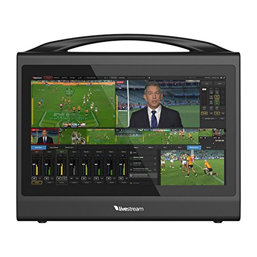 Livestream Studio HD550 4K | Compact Portable Live Production Switcher ()