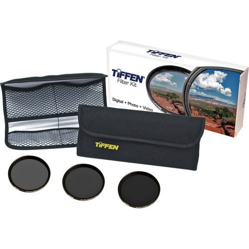 Tiffen 58mm Digital Neutral Density Filter Kit (ND 0.6, 0.9, 1.2 + Wallet) by Tiffen