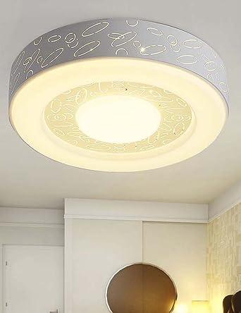 Deckenleuchten- Einfache moderne runde atmosphärische LED dimmable ...