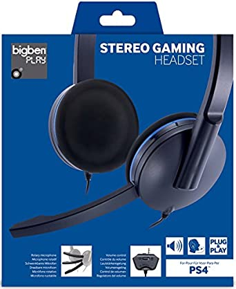 Bigben Interactive - Auricular Plug&Play (Playstation 4)