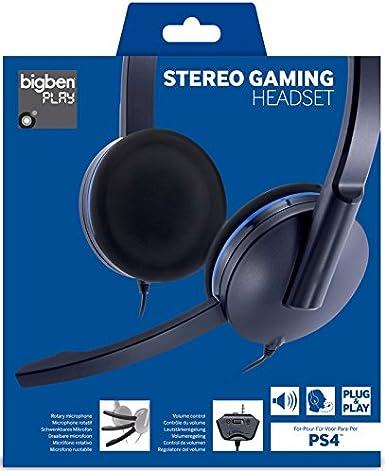 Bigben Interactive - Auricular Plug&Play (Playstation 4): Amazon ...