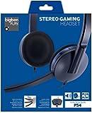 Bigben Interactive Casque jeu pour PlayStation 4 Casque audio - casques audio (console de jeux, Binaural, Bandeau, Noir, Bleu, Contrôle en ligne, Sony PlayStation 4)