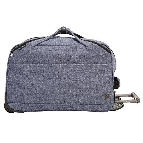 Ricardo Beverly Hills Malibu Bay 20-inch Rolling City Duffel Bag, Indigo (Rolling City Bag)