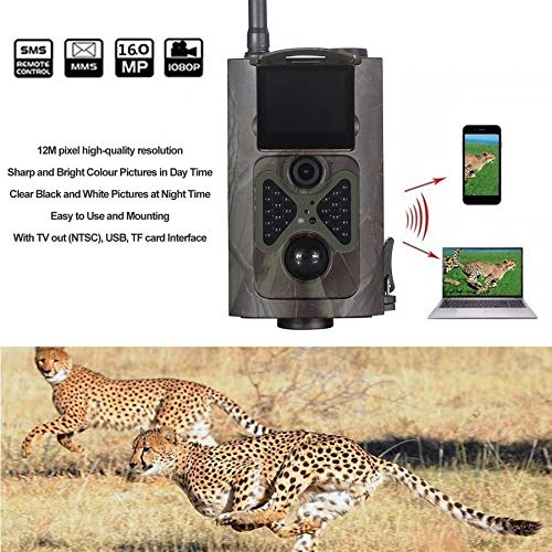 2019 Newest Wireless Hunting Cameras 500M HD 1080P GSM MMS GPRS SMS Control Scouting Digital Infrared Trail Hunter Cam Camera