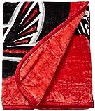 The Northwest Company NFL New England Patriots Prestige Plush Raschel Blanket, 60'' x 80'', Blue