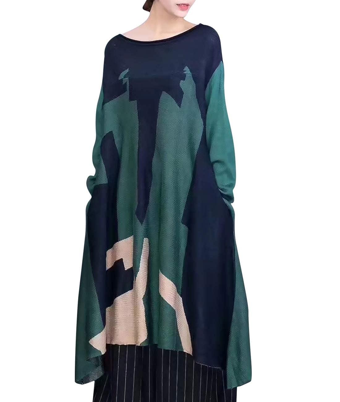Q12 Green YESNO E01 Women Casual Loose Fit Embroidered Blouse Shirt Lapel ButtonDown Shirt 100% Linen Raglan Sleeve