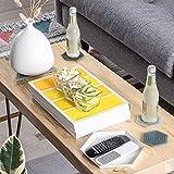 Set of 6 Degrē Coasters (Smoke) by LINE+ARC. 10mm