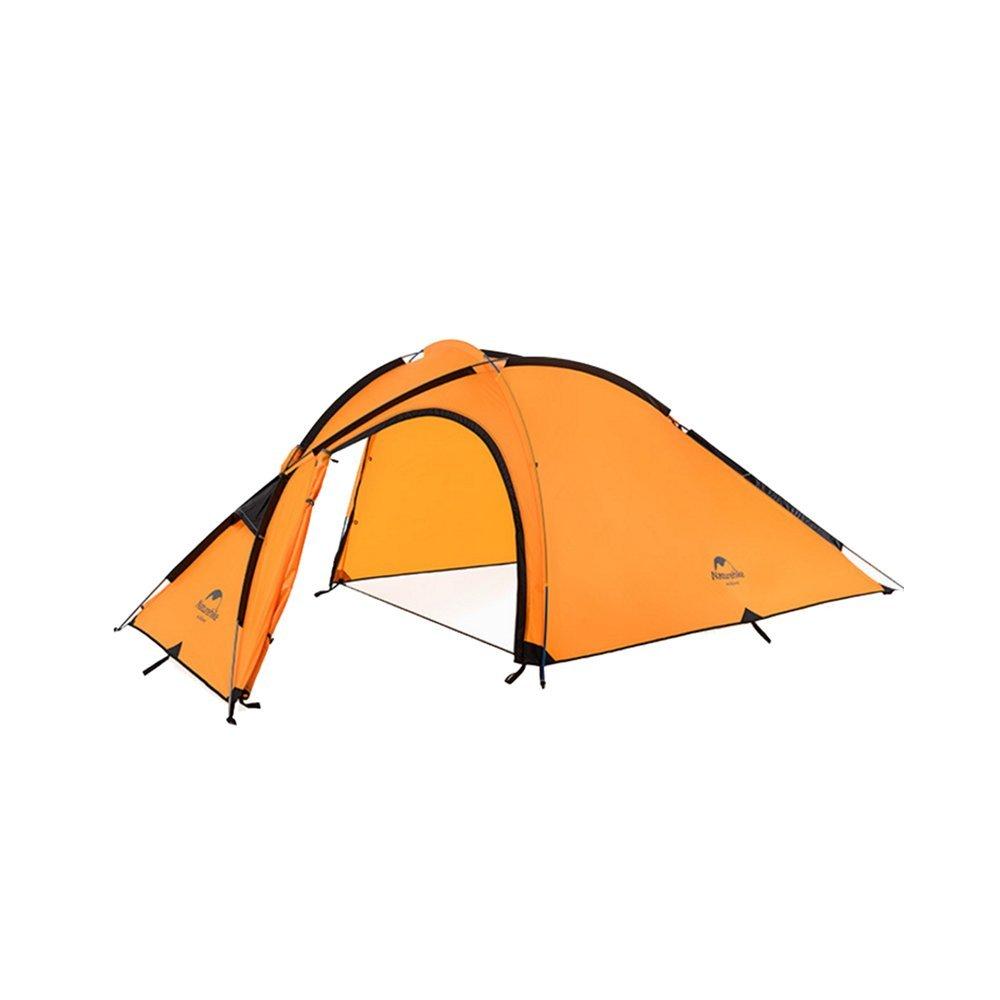Cotangle Tenda da campeggio 4 stagioni Tenda multi-persona da da da una camera da letto a un piano, da assemblare per gli sport all'aria aperta con patchwork arancione B07GFKBS3D Parent | ecologico  | riparazione  | Attraente e durevole  | Valore Formidabile 9a8807