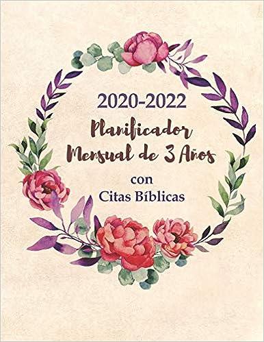 Amazon.com: 2020-2022 Planificador Mensual de 3 Años con ...