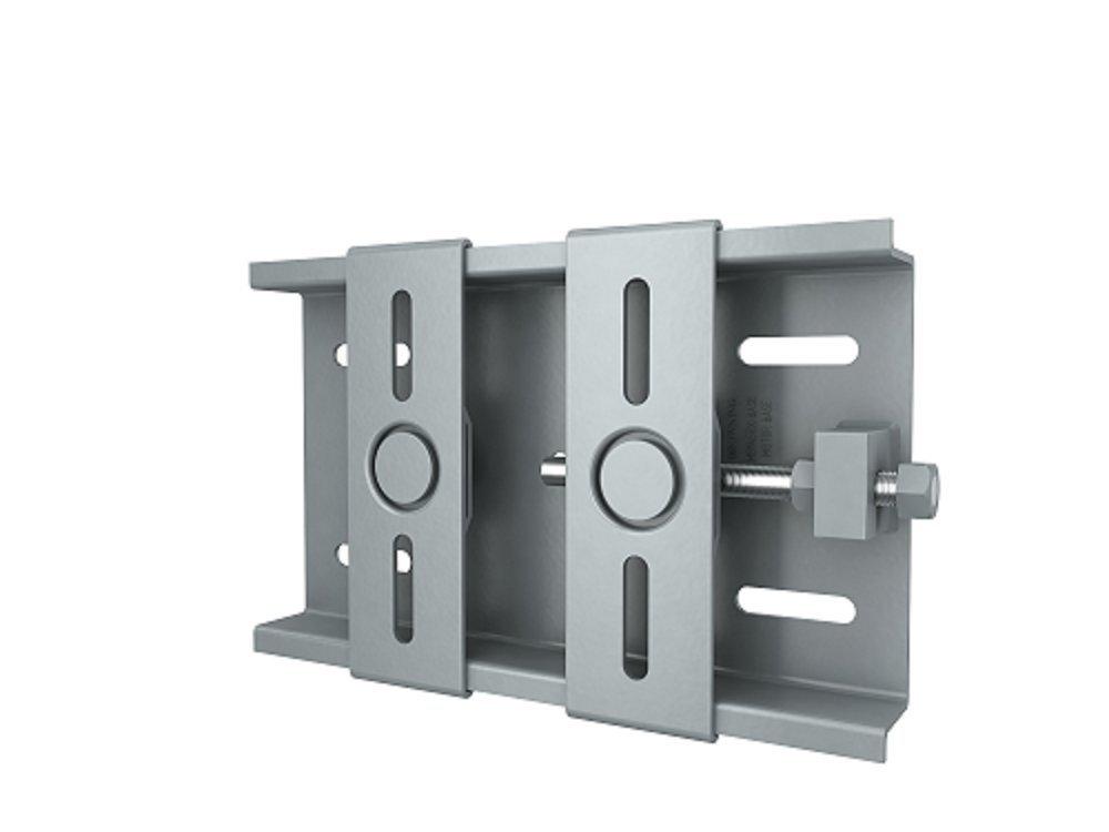 Image of Belt & Chain Tensioners Browning Industrial Belts MB145TX Base Steel Motor Base, Adjustable, 48-145T NEMA Frame, 12.75' Length