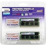 CFD販売  ノートPC用メモリ PC3-10600(DDR3-1333) 4GB×2枚 204pin SO-DIMM (無期限保証)(Panramシリーズ) W3N1333PS-4G