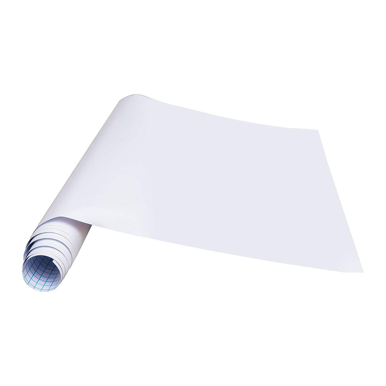 rabbitgoo Pegatina Pizarra Blanca Tablero Adhesivo de Mensajes Uso ...