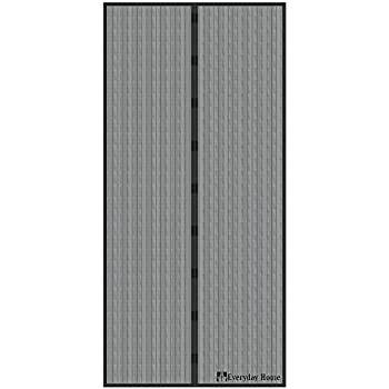 Magnetic Screen Door With Heavy Duty Magnets And Mesh
