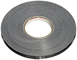 3M Scotchcal Striping Tape, 1/4-Inch by 50-Foot, Black (79902)