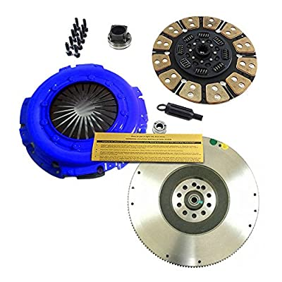 EFT STAGE 4 POWER CLUTCH KIT& FLYWHEEL 99-03 FOR FORD F250 F350 F450 F550 7.3L DIESEL: Automotive