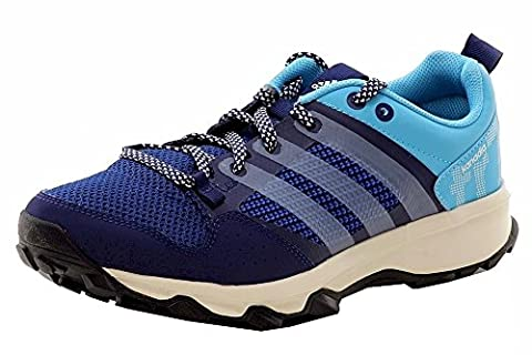 adidas Outdoor Kanadia 7 Trail Running Shoe - Women's Midnight Indigo/Chalk White/Bright Cyan 8