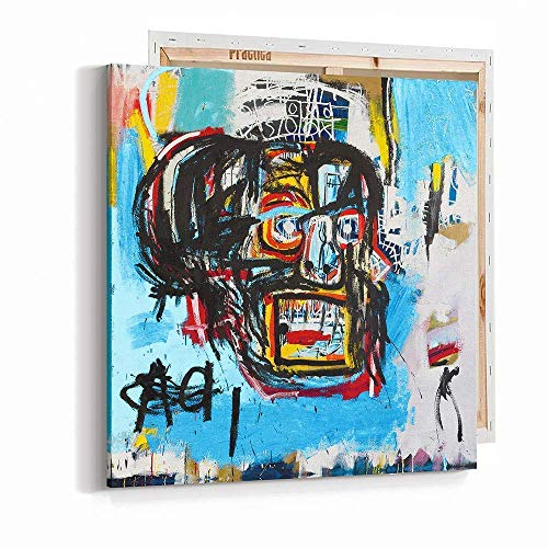 (Wall Art Canvas Print Michel Basquiat Skull)