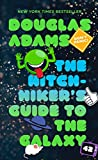 capa de The Hitchhiker's Guide to the Galaxy
