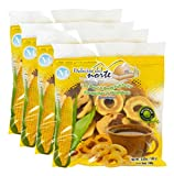 Corn Crunchy Rings (Rosquillas Somotenas), 3.52 Oz Bag - from Nicaragua. Package of 4.